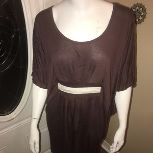 Tops - Women's large belted Top